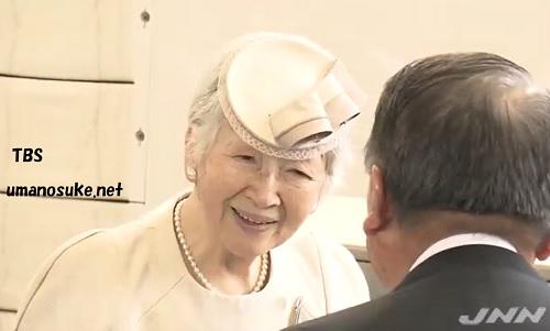 京都へ出発される皇后