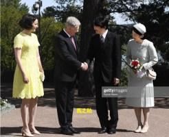 フィンランド大統領夫妻と秋篠宮殿下と紀子さま
