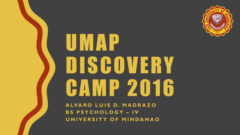 thumbnail of umap-discovery-camp-2016