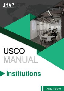 thumbnail of UMAP Student Connection Online (USCO) Manual for Institutions