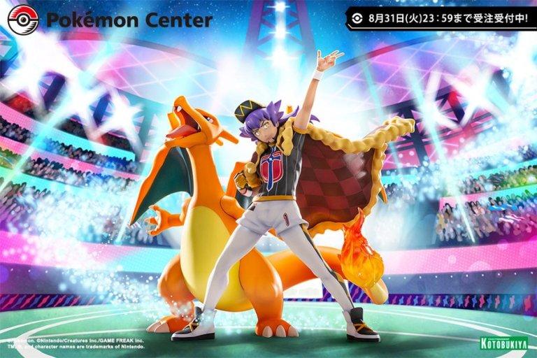 Pokemon Center 限定 丹帝x噴火龍 Figure 接受預訂中