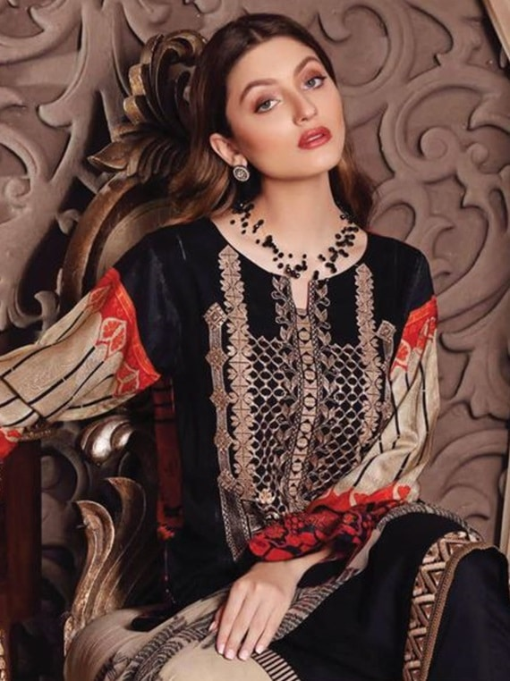 Sheen Embroidered Linen Vol-01 2020 By Charizma