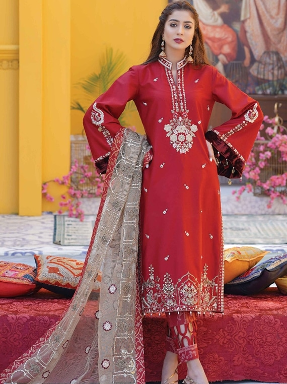 ANAMTA Cotton Stain Hand Work Collection 2020