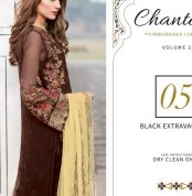 Chantelle Embroidered Chiffon Collection Vol-05 (D-05C)-gallery