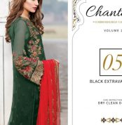 Chantelle Embroidered Chiffon Collection Vol-05 (D-05D)-gallery