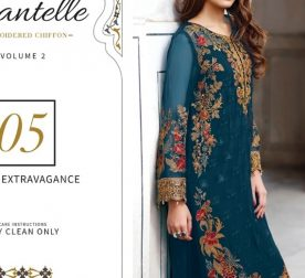Chantelle Embroidered Chiffon Collection Vol-05 (D-05G)
