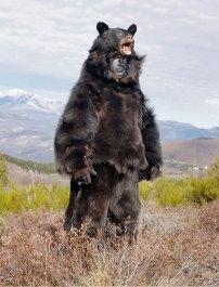 European Pagan Rituals Bear Masks