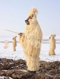 European Pagan Rituals Bear Masks