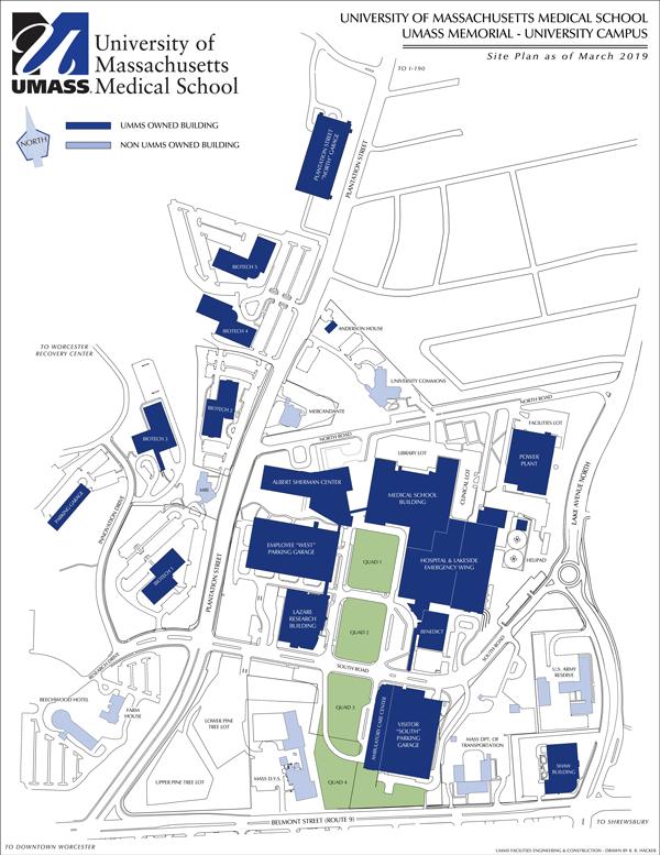 Acc Campus Map : campus, Campus, Umass, Medical, School