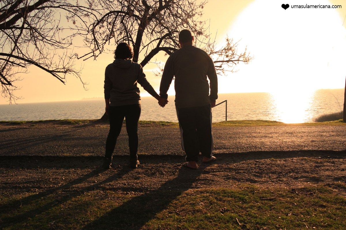 Fotografando o Pôr do sol - Colonia del Sacramento