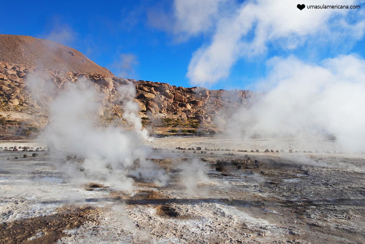 O que fazer no Atacama - Geysers de Tatio