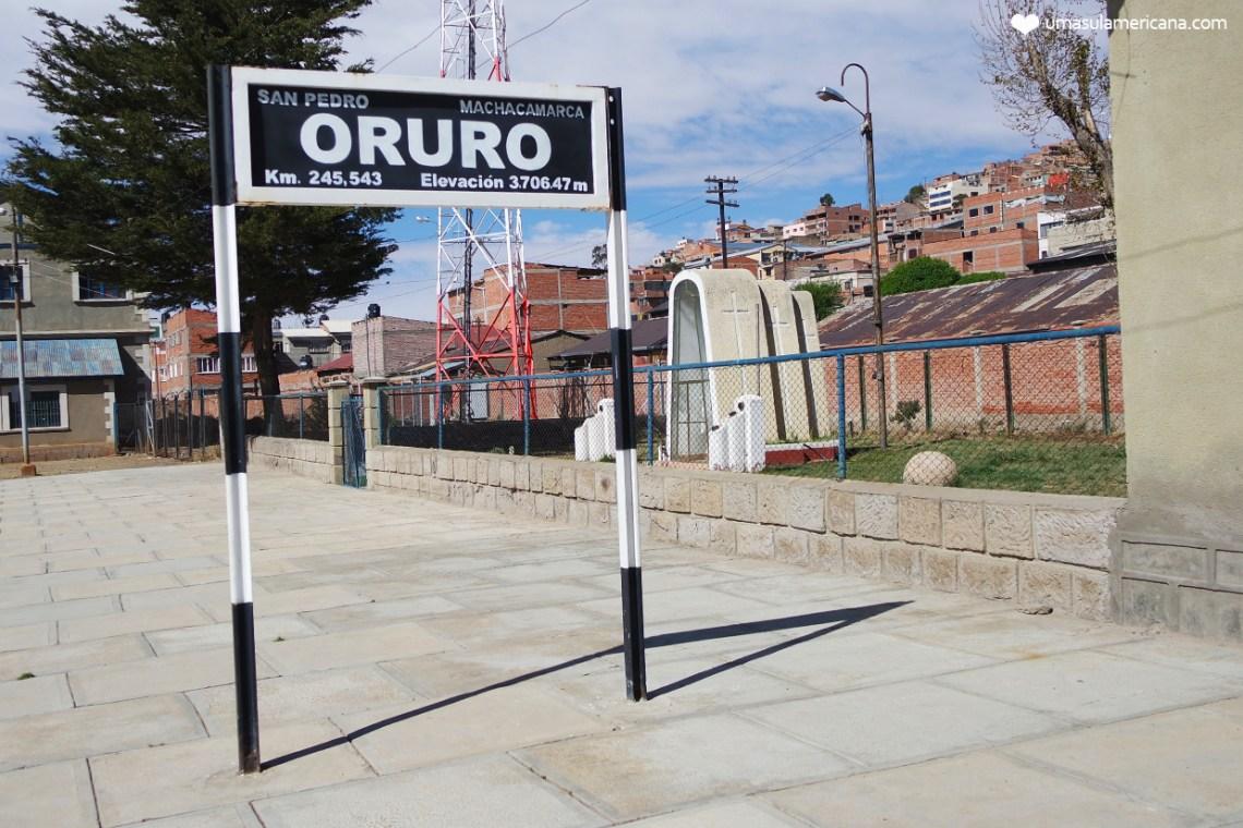 Choque cultural em Oruro