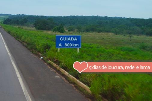 Carona de Santarém a Cuiabá - Brasil