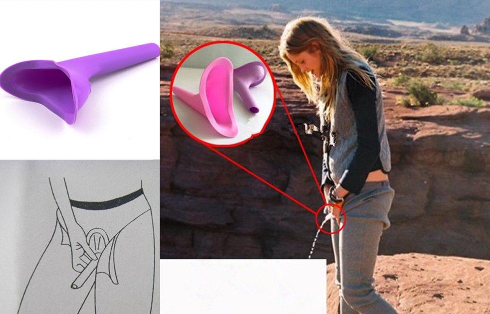 Condutor urinário pra fazer xixi em pé durante trilhas e viagens