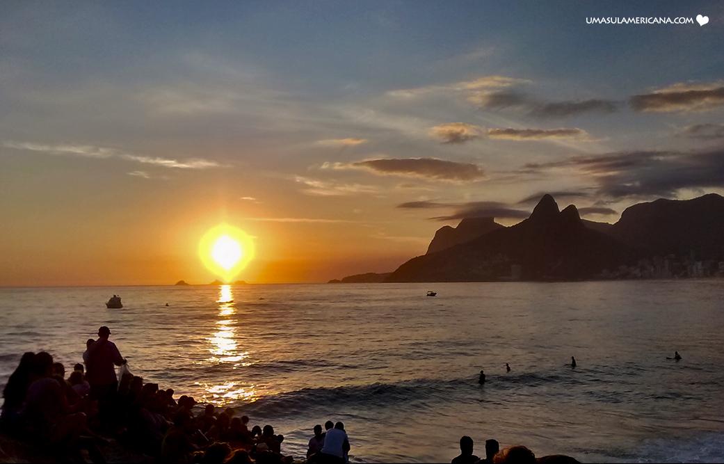 Como fotografar o nascer e o por do sol nas viagens - Regra dos Terços