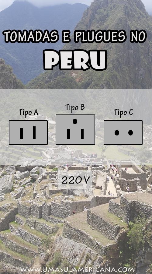 Tomadas e plugues no Peru - Dicas para planejar uma viagem ao Peru