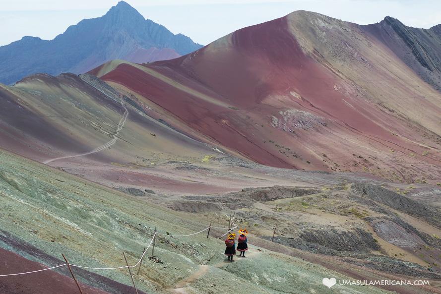 Montanha Colorida do Peru - Vinicunca (Rainbow Montain) - Conheça a Montanha de 7 Cores perto de Cusco, no Peru e combine essa lindeza com sua viagem a Machu Picchu