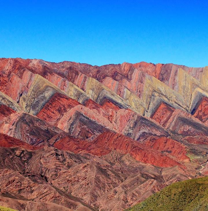 Montanhas Coloridas da América do Sul