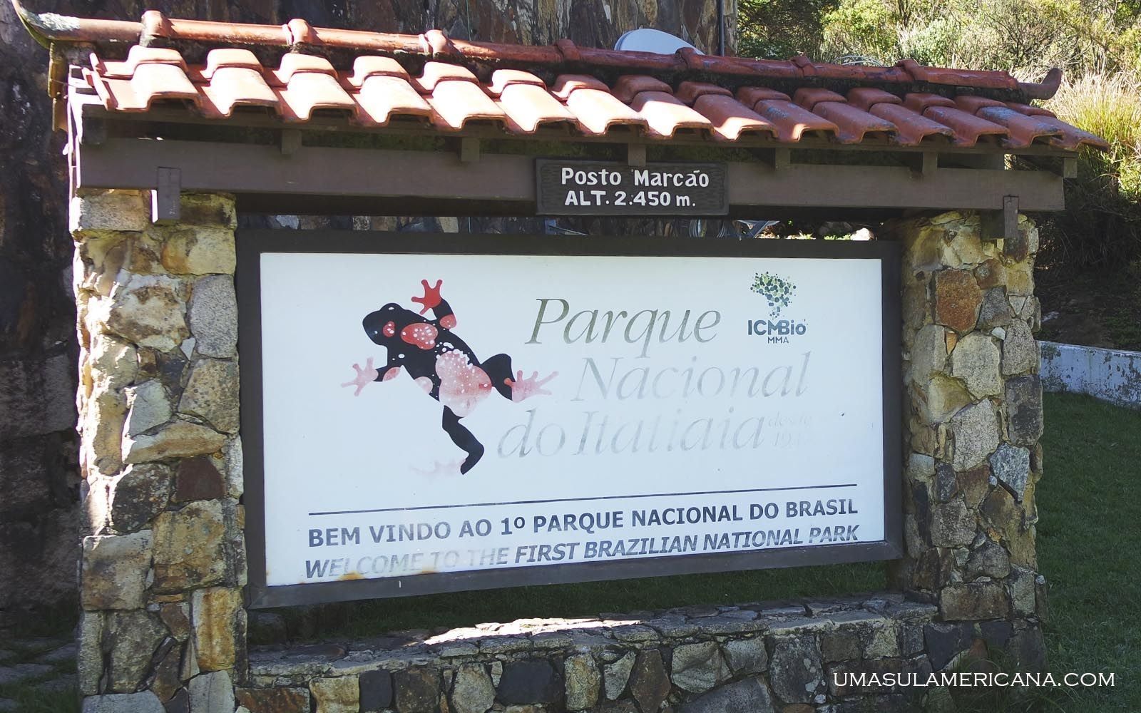 Posto do Marcão - Final de semana no Parque Itatiaia - Trilhas na parte alta