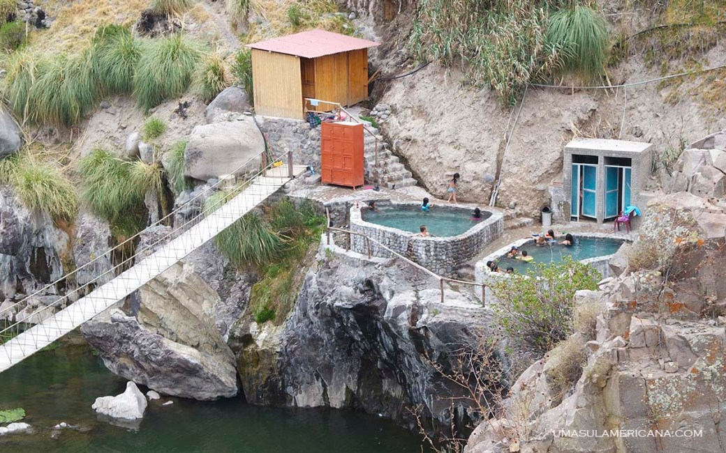 Termas - Full day Canion del Colca - Passeio de 1 dia perto de Arequipa