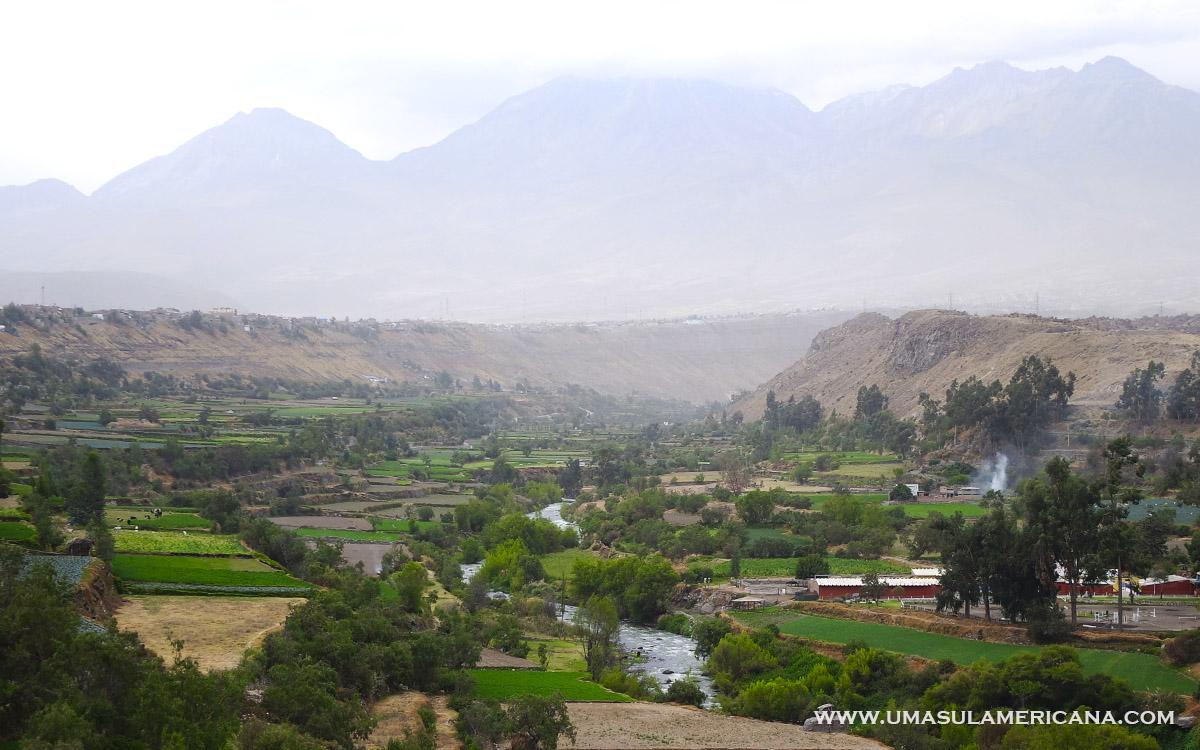 Mirantes em Arequipa - Mirador de Carmen Alto