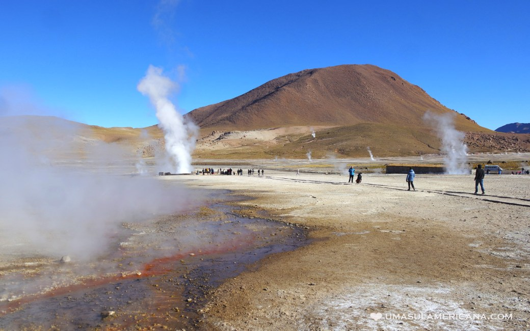 Geysers del Tatio, no Atacama - Viagem pelo Chile