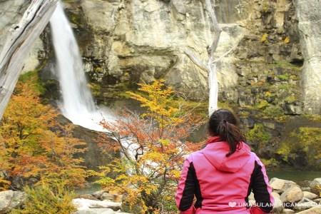 Chorrillo del Salto -Trilha à uma cachoeira em El Chaltén, Patagônia Argentina