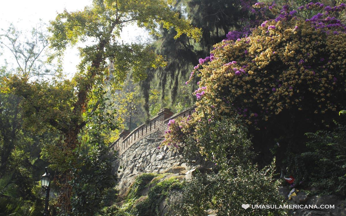 Free Tour Santiago - Cerro Santa Lucía