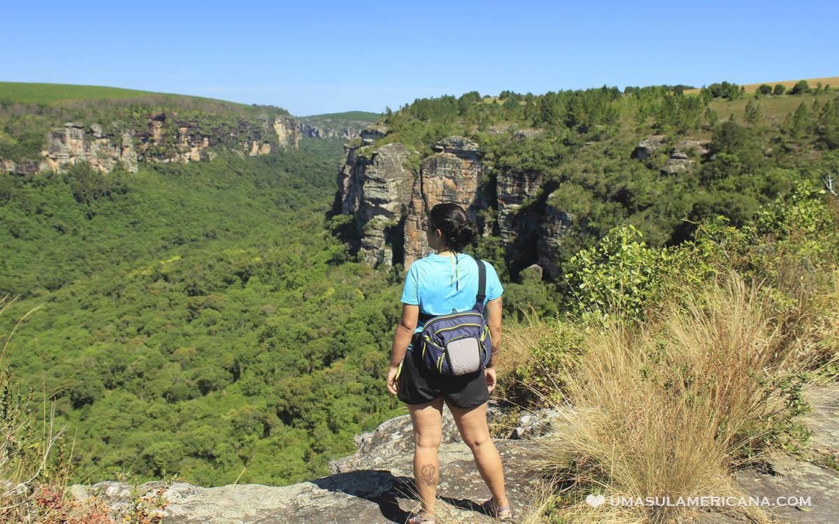 Turismo no Vale do Itararé - Tudo sobre Itararé, Sengés e região - Cânion do Jaguaricatú