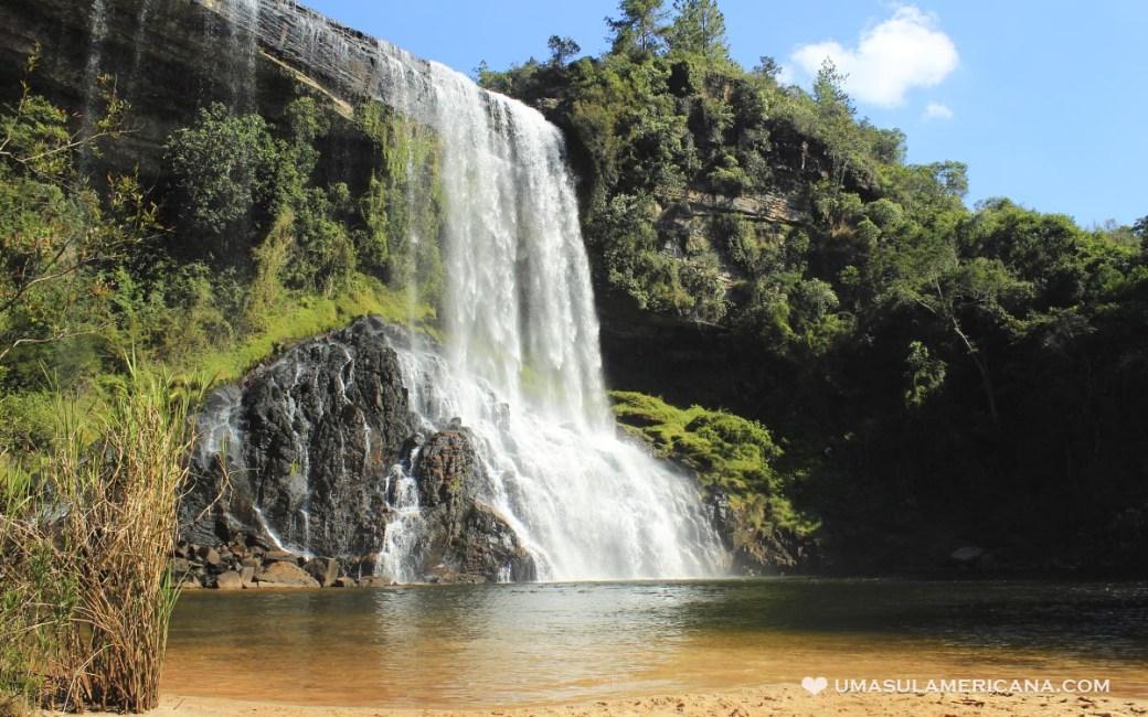 Turismo no Vale do Itararé - Tudo sobre Itararé, Sengés e região - Cachoeira Sobradinho (Véu de Noiva)