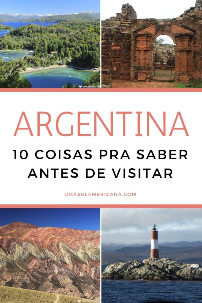 10 coisas para saber antes de uma viagem pela Argentina
