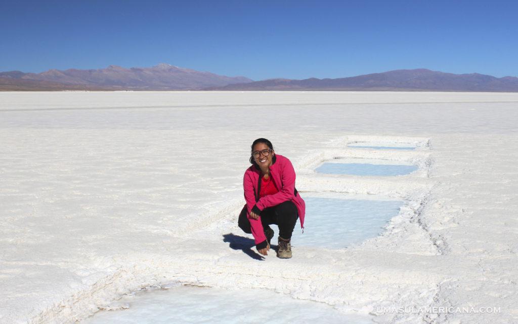 Jujuy - Salinas Grandes, o terceiro maior deserto de sal da América do Sul - Turismo de Base comunitaria