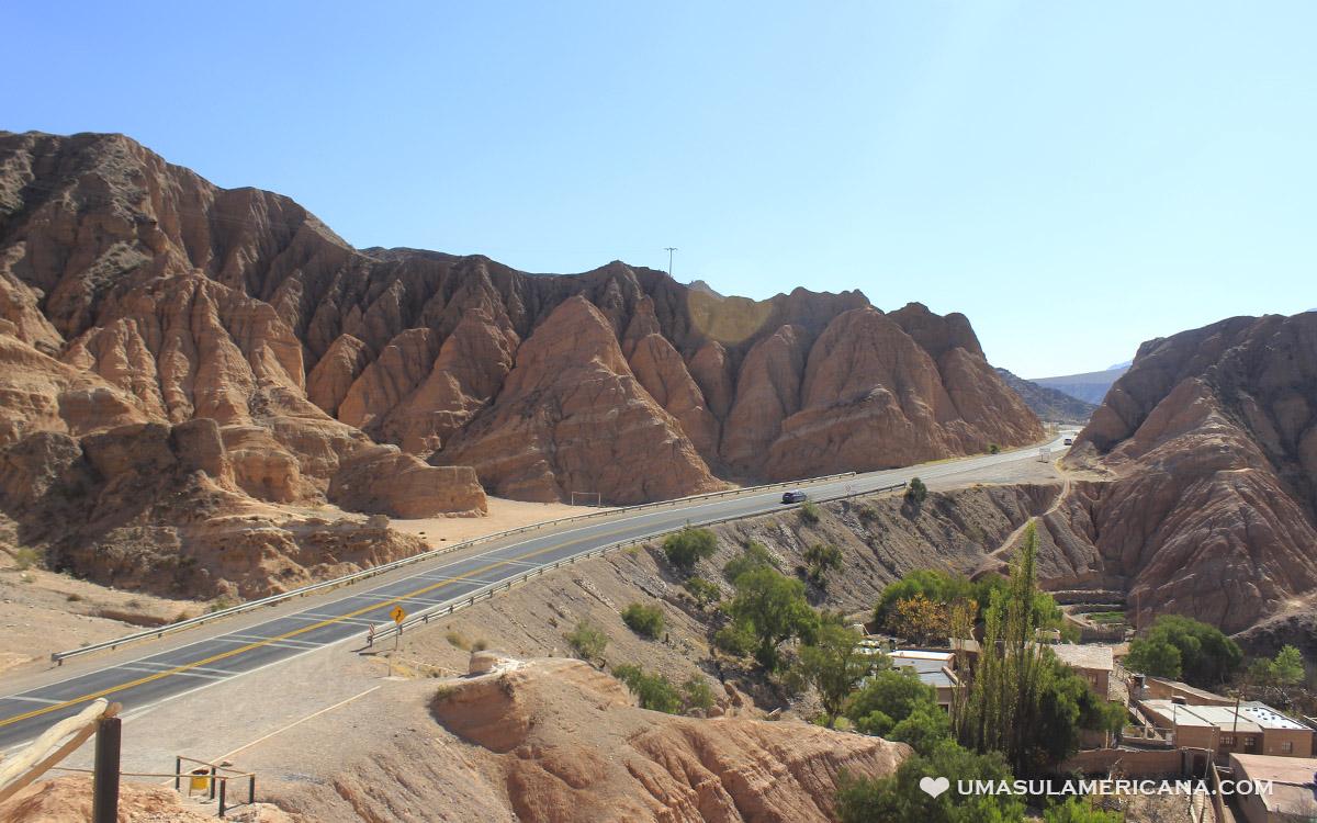 Maimará e Las Paletas del Pintor, Quebrada de Humahuaca, Jujuy - Ruta 9, entre Purmamarca e Tilcara