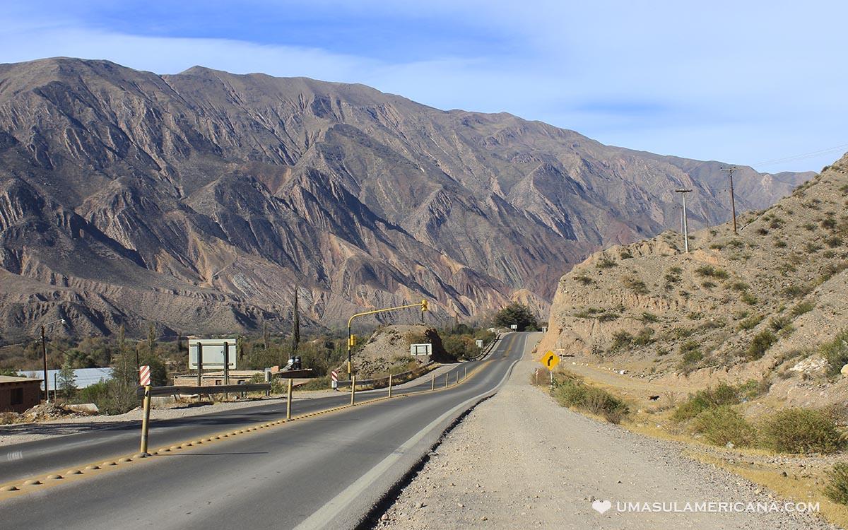 Maimará e Las Paletas del Pintor, perto de Tilcara - Jujuy - Ruta 9 Quebtada de Humahuaca