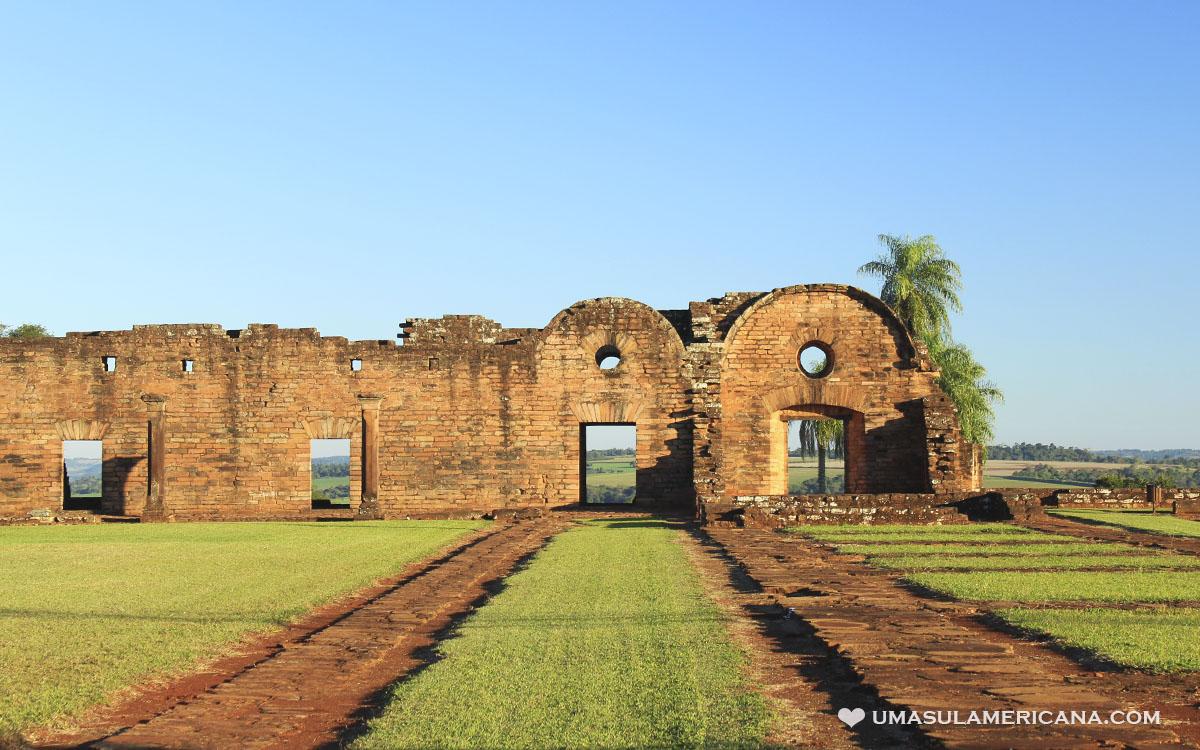 Roteiro Brasil, Argentina e Paraguai - Missões Jesuítas do Paraguai - Jesús de Tavarangué