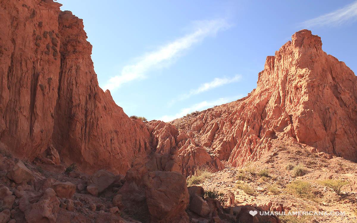 Lugares no norte da Argentina - Quebrada de Las Señoritas