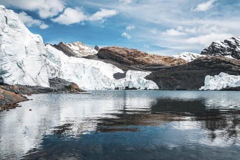 Glaciar Pastoruri - Geleiras na América do Sul para uma aventura glacial
