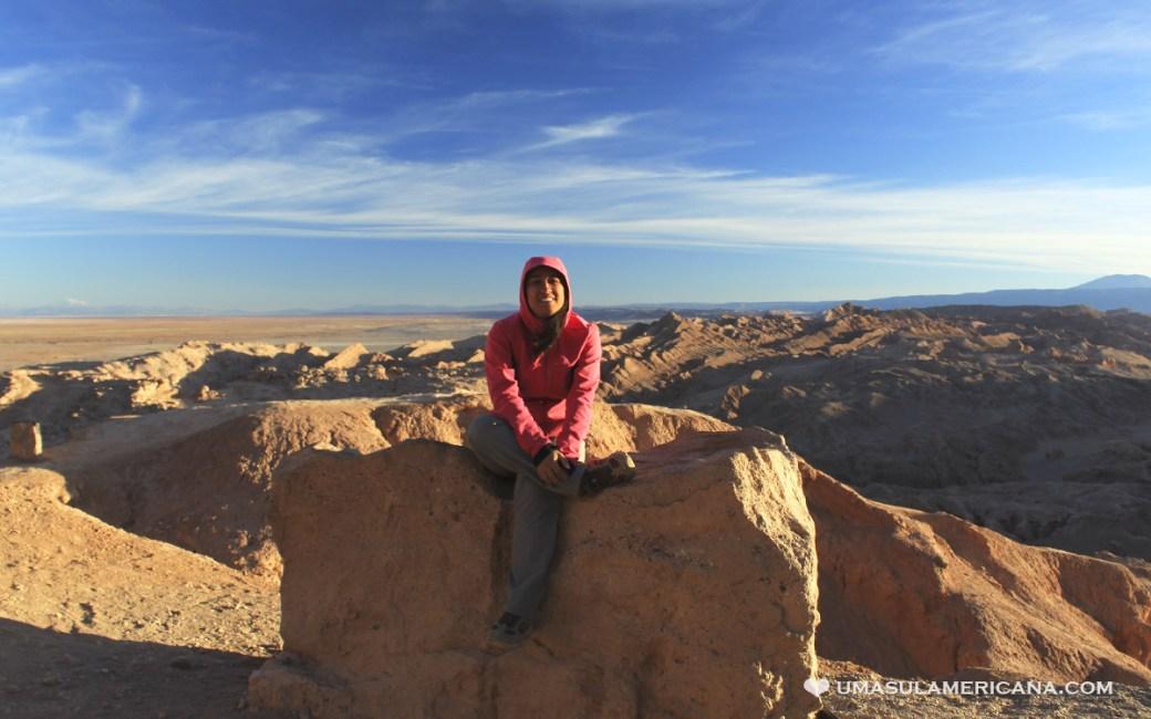 Pôr do Sol no Atacama - Cordilheira de Sal