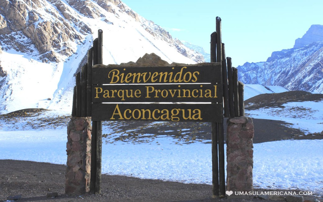 Parque Aconcágua, perto de Mendoza, na Argentina