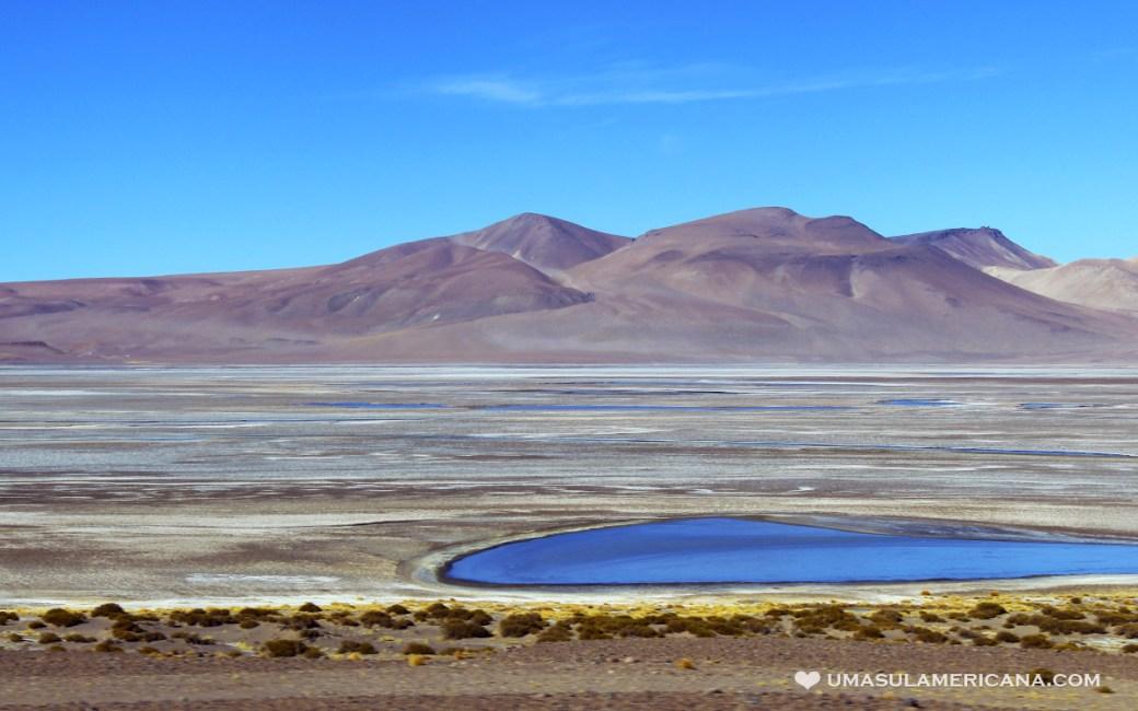 Atacama. visão da estrada que liga Purmamarca, Jujuy e Salta ao Atacama via Paso Jama