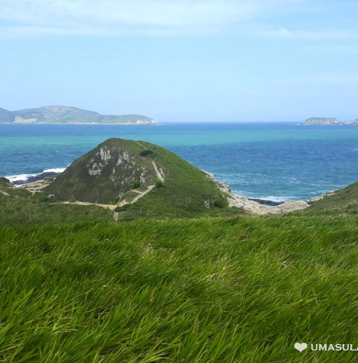 Morro do Vigia, entre a Praia do Peró e a Praia das Conchas