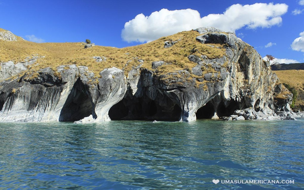 Capillas de Mármol, Sul do Chile