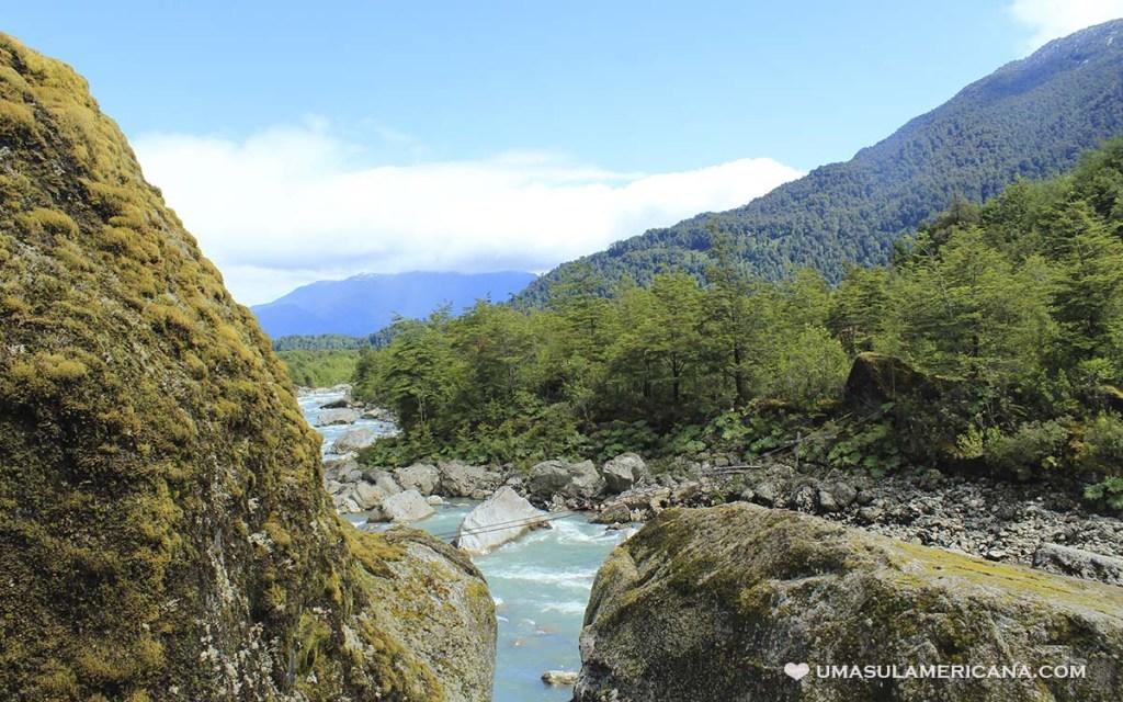 Parque Nacional Queulat, na Carretera Austral - Aysén