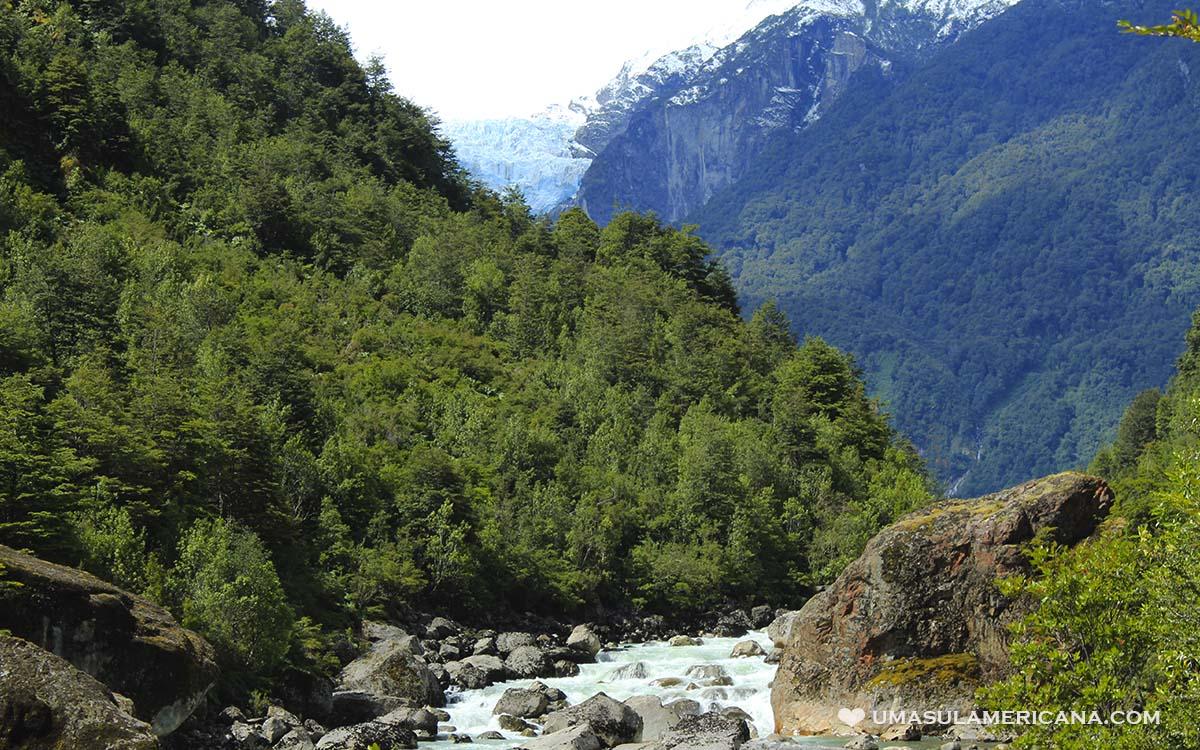 Parque Nacional Queulat, na Região de Aysén, Carretera Austral