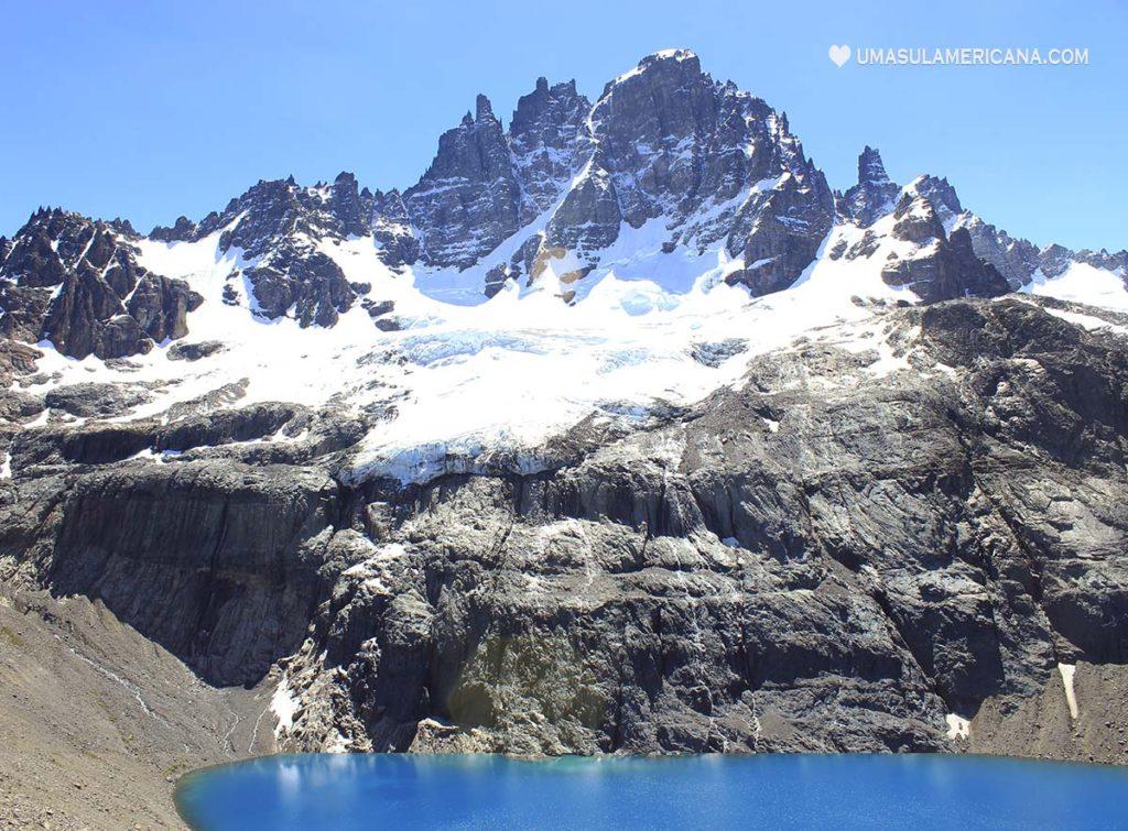 Cerro Castillo, parque nacional na Carretera Austral, norte da Patagônia Chilena