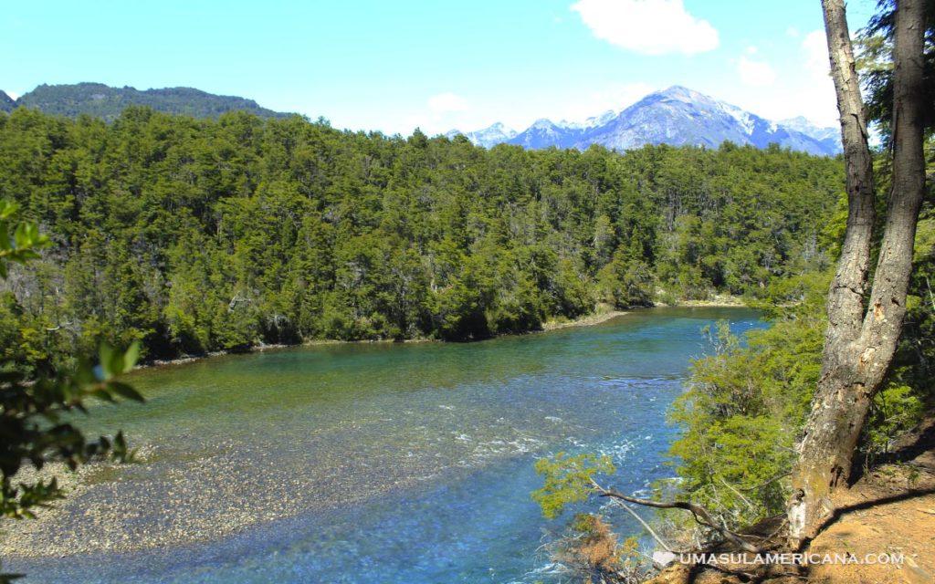 Rio Arrayanes, Esquel - Norte da Patagônia Argentina em Chubut