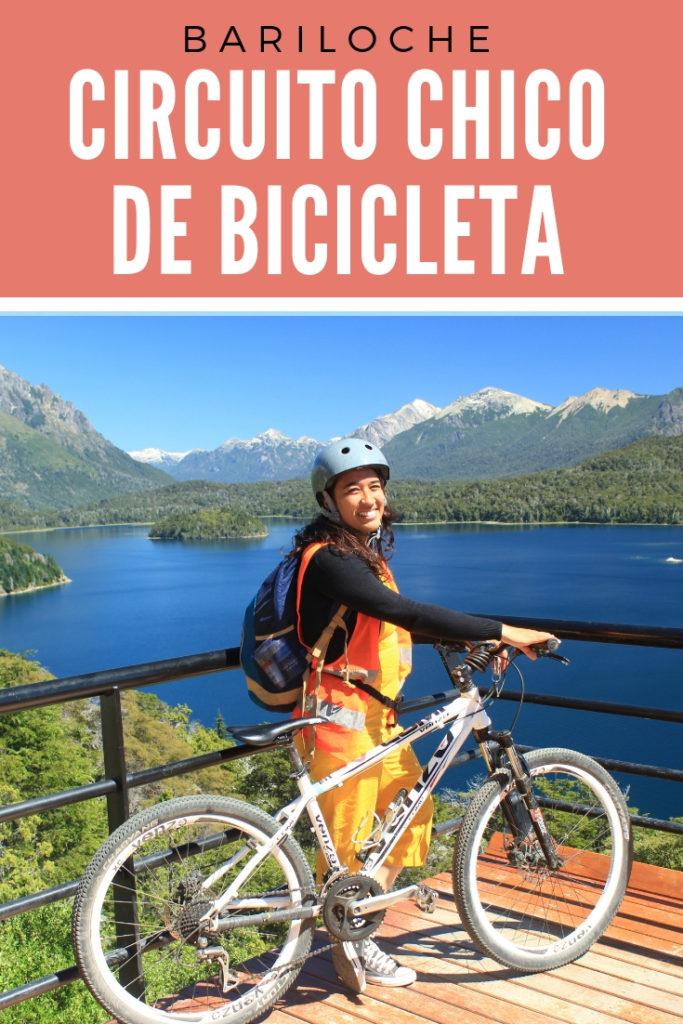 Circuito Chico de bicicleta por conta própria em Bariloche