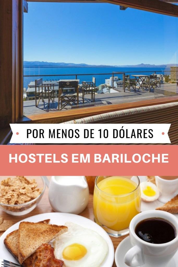 Hostel em Bariloche por menos de 10 dólares e nota 8 no Booking
