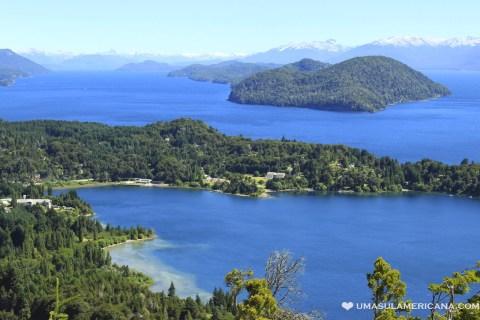 Vista do Cerro Campanário em Bariloche