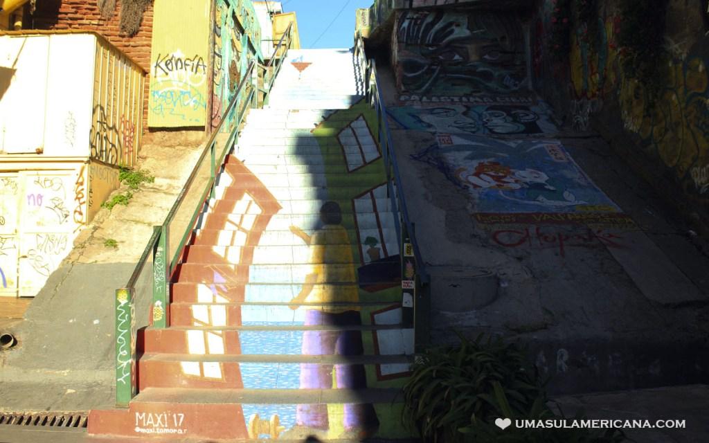 Escadarias de Valparaíso